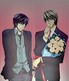 Sekai-Ichi Hatsukoi- Takano Masamune and Junjou Romantica- Usami Akihiko