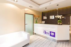 Interior and furniture design for dental clinic