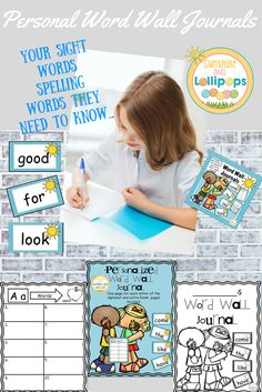 This custom resource was created so children have the opportunity to either jot down words THEY need to know, as a spelling reference/dictionary or simply to reinforce sight words...the choice is yours. It is a great personal resource for students to think about words and a reference tool to learn them. The Words are not included, but I would be happy to customize your words and create the cards for you. I do have Fry Word Wall Word Cards available in my shop and will soon have Dolch Word Ca...