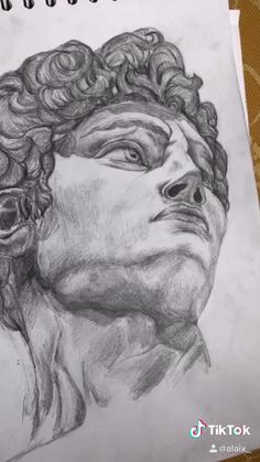 Drawing Sketches, Pencil Drawings, Art Drawings, Art Ideas, Room Ideas, How To Draw Hair, Boy Art, Michelangelo, Drawing Techniques