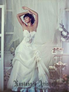 "Wedding dress with lace / Купить Свадебное платье ""Sweet Dream"" - свадебное платье, свадебное платье на заказ"