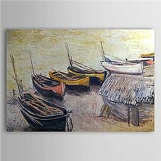 Famous Oil Painting Boats on the Beach by Claude Monet - See more at: http://www.homelava.com/en-famous-oil-painting-boats-on-the-beach-by-claude-monet-nbsp-p20148.htm#sthash.cOBLkqBo.dpuf