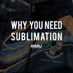 Sublimation has been at the forefront of custom sportswear for a while now, however it is still a widely unknown term.
