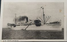 Pohľadnica SS Zeelandia - EMPORIUM