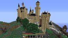 Neuschwanstein Castle a la Minecraft!