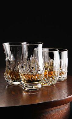 Waterford Lismore Whiskey Tumbler, Mixed Set of Four