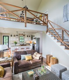 Wood staircase. Wood staircase. Wood staircase is walnut with cable rail. Wood staircase with cable rail. #Woodstaircase #walnut…
