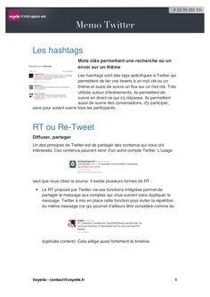 twitter-rappels-sur-les-usages-et-le-langage by Voyelle  via Slideshare