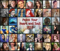 Dear friend, It's Kitty here, I'm very excited to let you know that I'm teaching at a brand new course: Paint your Heart and Soul 2017, hosted by our fellow a