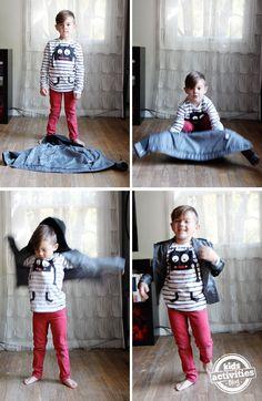 The jacket flip method!