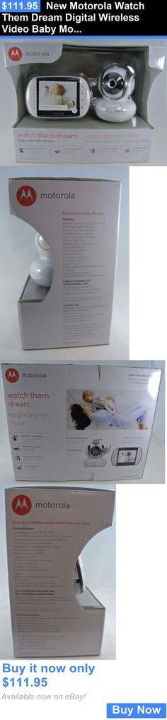 motorola watch them dream. baby kid stuff: new motorola watch them dream digital wireless video monitor mbp36s buy it now only: $111.95 | health and safety products