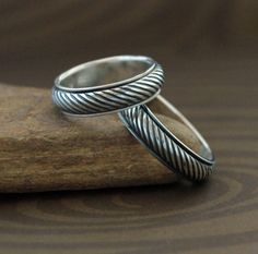 Endless String Band  Spinner Ring in Sterling Silver by plyeffects, $65.00