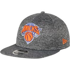 online store eee5d a4a43 Men s New York Knicks New Era Heathered Gray City Sided 9FIFTY Original Fit  Adjustable Hat,