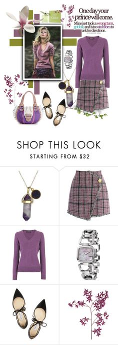 """""""wrong turn"""" by sasane ❤ liked on Polyvore featuring Dee Berkley, Chicwish, Joe Taft, Versus, Gucci, Jimmy Choo and Sia"""