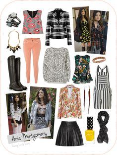 aria montgomery dresses - Google Search