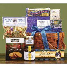 Scottish Gourmet USA gift basket