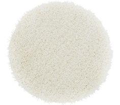 Shaggy szőnyeg: fehér, 30% PES, 70% polipropilén kerek, Átm: kb. 67 cm
