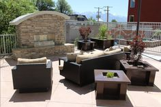 Seasons on the Boulevard is all about affordable, upscale, urban living! All Seasons Apartments come complete with beautiful, outdoor patios, hot-tubs, fireplaces, and grill areas! Now that's luxury living!