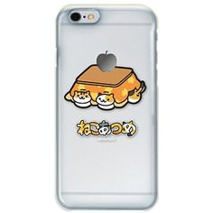 Amazon.com: Neko Atsume Character Hard Case for iPhone 6 (Cats... ($19) ❤ liked on Polyvore featuring accessories and tech accessories