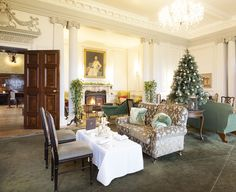 A warm welcome awaits you at Stapleford Park. Why not join us for traditional afternoon tea.  http://www.staplefordpark.com/dining/afternoon-tea.php