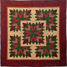 Cleopatra's Fan in Electric Quilt Quilt Block Patterns, Quilt Blocks, Cleopatras Fan Quilt, Christmas Table Cloth, Quilting Board, Hand Applique, Applique Quilts, Quilted Bedspreads, Quilted Wall Hangings