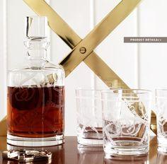 Ralph Lauren Home #Modern_Equestrian Collection 7 - Bar set