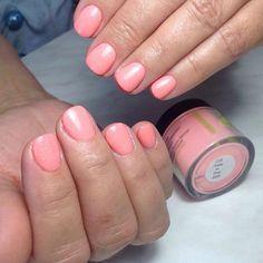 Sns pretty in pink prebonded nail dip powder signature nail systems Sns Dip Nails, Nexgen Nails Colors, Dip Nail Colors, Pretty Nail Colors, Dipped Nails, Pretty Nail Designs, Colorful Nail Designs, Pink Nails, Pretty Nails