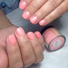 """SNS Nails 233 """"Pretty In Pink"""" via @sns_nail_systems on Instagram"""