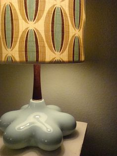 atomic lamp - mid century modern (midcentury furniture, decor, design, interior, pattern, 50's)