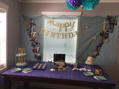 Mermaid/under the sea joint birthday party