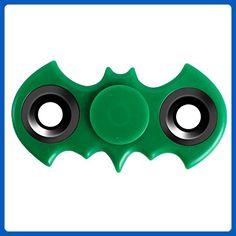 Pannow Hand Spinner bat shape fidget spinner stress Focus Keep Toy and ADHD EDC Anti Stress Toys Green - Fidget spinner (*Amazon Partner-Link)