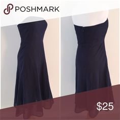 strapless dress. 100% cotton strapless dress with polka dot overlay. Fully lined. J. Crew Dresses Strapless