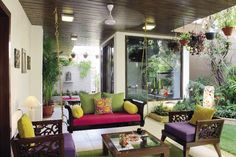 Straight From The Heart - Dr Utpal Patel's home in Ahmedabad is truly an expression of creativity & passion for art and design. : Inside Outside Magazine