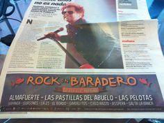 Clarin Suple Si para Rock en Baradero 2015