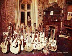 George Harrison and his Guitars