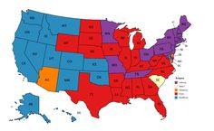 Largest non-Christian religion in each US state. - Maps on the Web