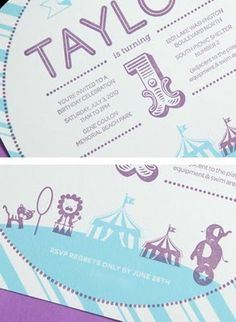 Hip Hostess Kids Invitation