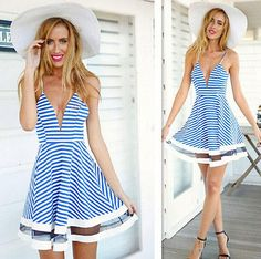2015 Sexy Women Summer Casual Sleeveless Party Evening Cocktail Short Mini Dress