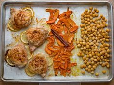 Sheet pan dinner ideas food network dinners sheet pan and easy north african chicken and chickpeas sheet pan dinner canned chickpeasafricansfood networkeasy forumfinder Image collections
