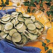 Marinated Cucumbers, Recipe from Cooking.com