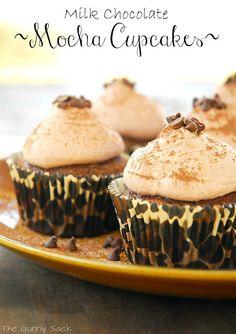 Milk Chocolate Mocha Cupcakes