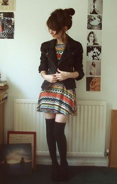 Tribal Edge - 37 Adorable Back-to-School Outfits for Teens . Back To School Outfits, Outfits For Teens, Winter Outfits, Casual Outfits, Cute Outfits, Casual Clothes, Teen Fashion, Fashion Outfits, Womens Fashion