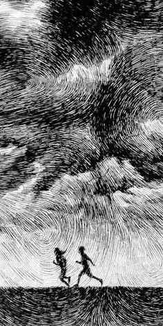 Nicolas Jolly Fingerprint Drawings 10 #illustration #inspiration #art