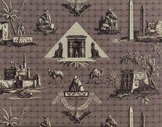 MONUMENTS D'EGYPTE B1818001 - Designed by Pierre Frey - Braquenié