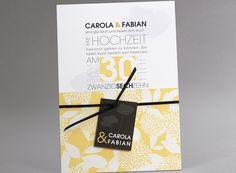 #Letterpress #Hochzeitskarten #kreativehochzeitskarten #einladungskarten  Flower Power M26 015 J 3