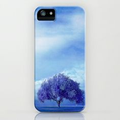 lone tree under the fullmoon iPhone & iPod Case by Viviana González - $35.00