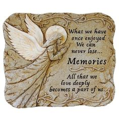 Memories ~ What we have once enjoyed we can never lose... All that we love deeply becomes a part of us.