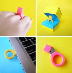 Un anillo original para los amantes de la informática