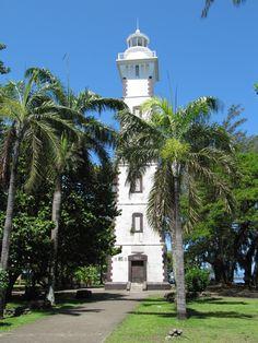 Point Venus Lighthouse, Tahiti.