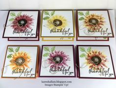 I am having FUN with my new stamp set called Painted Harvest. It will be available for the general public on Sept. 1. This is a lovely ...